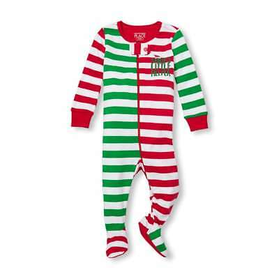 NWT The Childrens Place Boys Santa