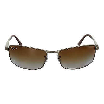 Ray-Ban Active Polarized Brown Gradient Sunglasses RB3498 029/T5 61 Polarized Brown Gradient Sunglasses