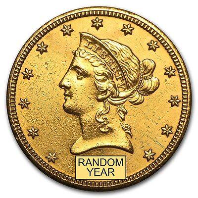 $10 Liberty Gold Eagle (Cleaned) - SKU #9121