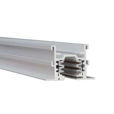 WAC Lighting W Track - W2 277V 2-Circuit Track(8'), White - WHT8-WT