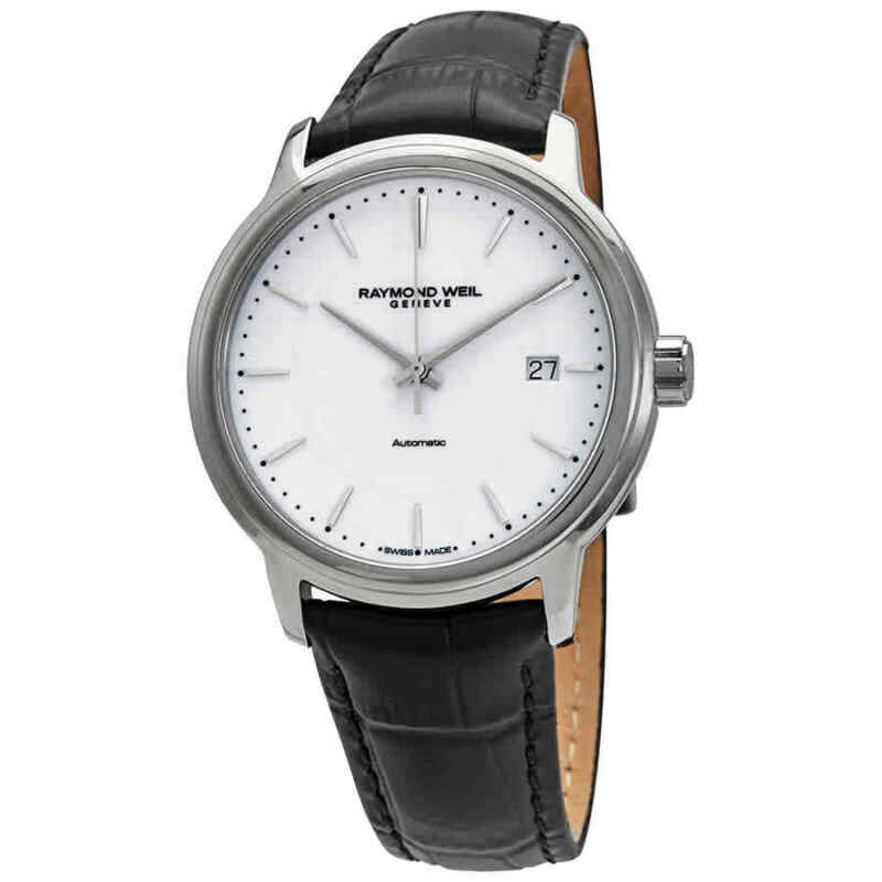Raymond Weil Maestro Automatic White Dial Men Watch 2237-STC-30011