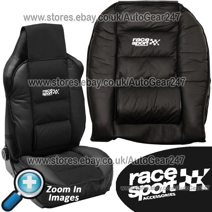 Details About Race Sport Black Padded Luxury Lumber Side Support Front Car Seat Cushion