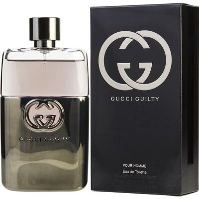 Gucci Guilty Pour Homme By Gucci 3.0 OZ 90 ML Perfume For Men NEW SEALED EDT