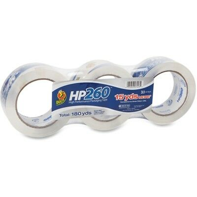 3 Pack Duck Brand Hp260 High Performance Packaging Packing Tape 3.1 Mil 180 Yds