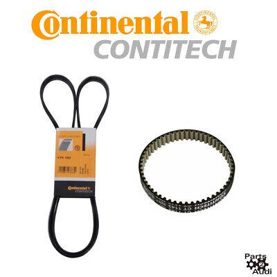 Continental Serpentine Drive Belt Kit Water Pump & Alternator For Audi VW