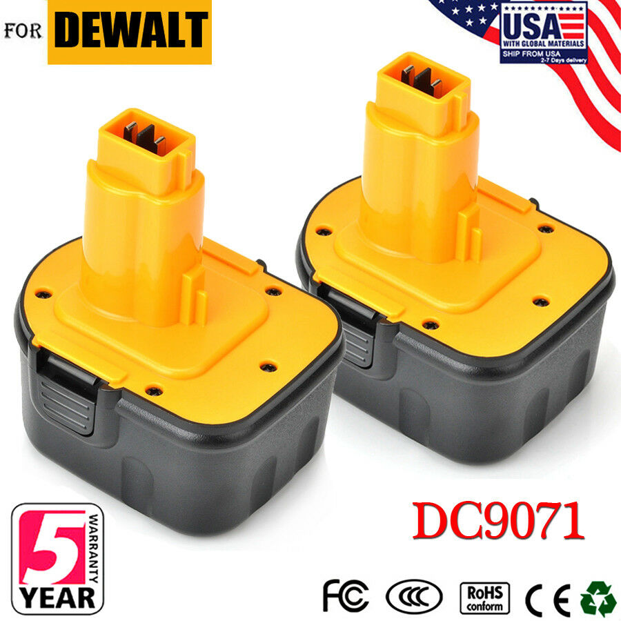 Dewalt XRP DC9071 Hardware Tool Battery - Proprietary - Nick