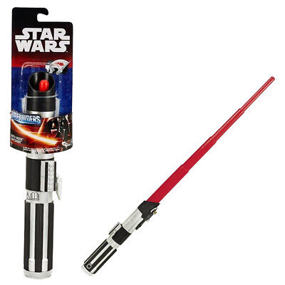 STAR WARS LASERSCHWERT # Lichtschwert Leuchtschwert Darth Vader Kinder Spielzeug ()