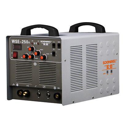 Wse250a Aluminum Welder Acdc Tigmma 3 In 1 Welding Machine 220v