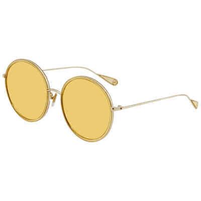 Vedi Vero Yellow Round Ladies Sunglasses VJ147 (Vedi Vero Sunglasses)