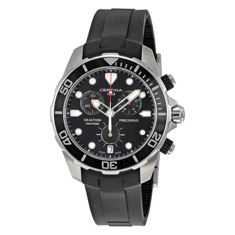 Certina-DS-Action-Chronograph-Black-Dial-Men-Watch-C0324171705100