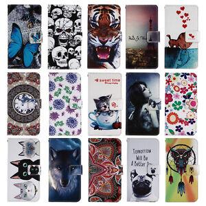 Funda-libro-piel-sintetica-estampado-Huawei-Honor-P8-Lite-2017-Honor-8-Lite-2017