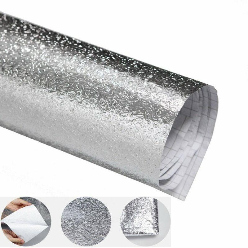 Silver+Shiny+Aluminum+Tin+Foil+Self-adhesive+Photo+Backdrop+Paper+DIY+Reflector