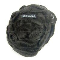 Haarsystem / Toupet, sehr dünne Folie, Ultra Thin Skin, Farbe #1b Hannover - Ricklingen Vorschau
