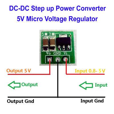 Dc Boost Step Up Converter 1.5v 3v 3.7v 4.2 To 5v Voltage Regulator Power Supply