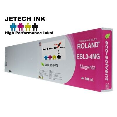 Roland Esl3-4 Eco-solvent Max Compatible 440ml Ink Cartridge - Magenta