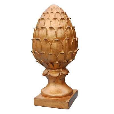 Gold Leaf Finials - Hickory Manor Pineapple Finial/GOLD LEAF - 6310GL