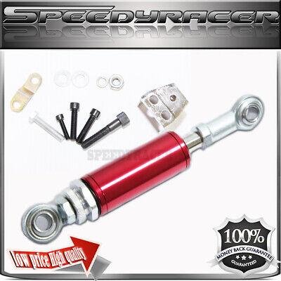 For 03-08 350Z G35 SOLID ENGINE MOTOR TORQUE DAMPER MOTOR MOUNT SUPPORTS RED Stiffy Engine Torque Damper
