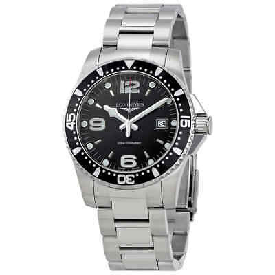 Longines HydroConquest Black Dial Men's Watch L37404566