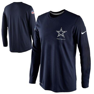Used, New Nike Dallas Cowboys NFL Football Dri-Fit long sleeve t-shirt men's 3XL XXXL for sale  Shipping to Canada