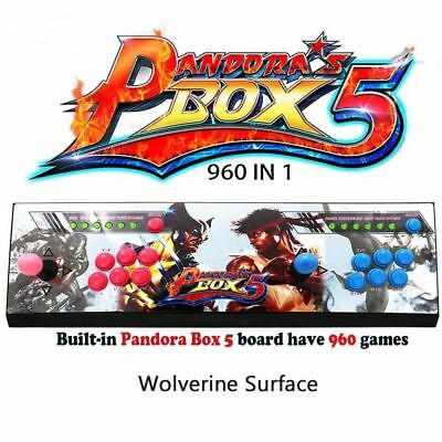Original Pandora Box 5 960 Game Double Stick Retro Arcade Console Support TV/PS3