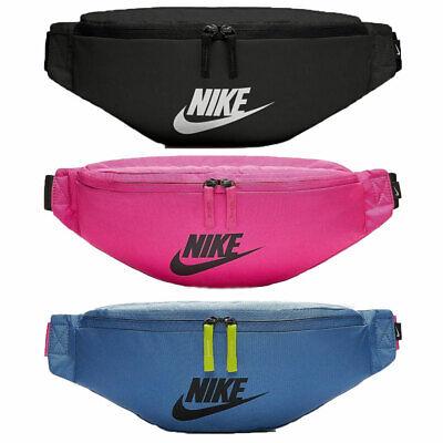 Nike Hip Pack Sportswear Bum Bag Heritage Fanny Running Travel Crossbody Bags