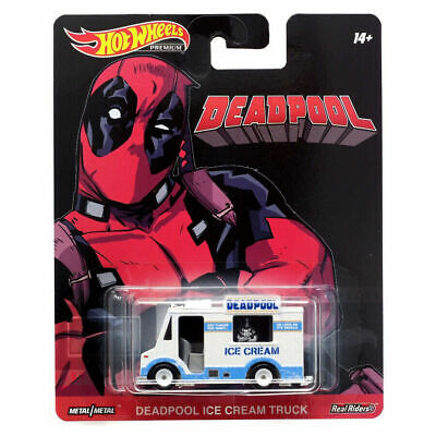 Hot Wheels Deadpool Ice Cream Truck 2019 Replica Entertainment 1:64