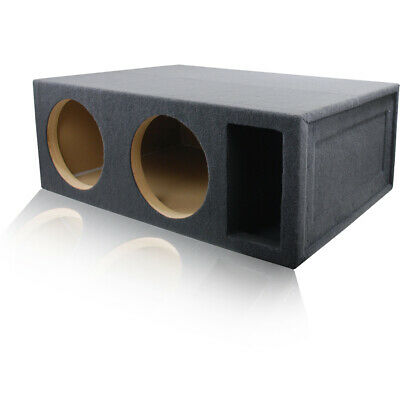 """5 ft³ PORTED @ 34Hz SUBWOOFER ENCLOSURE MDF SPEAKER BOX FOR PAIR OF 12"""" WOOFERS for sale  Shipping to India"""