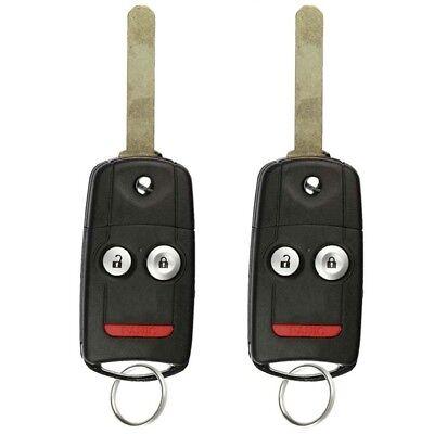 2 NEW Acura MDX 2007-2013 / RDX 2008-2009 N5F0602A1A Remote Flip Key USA Seller