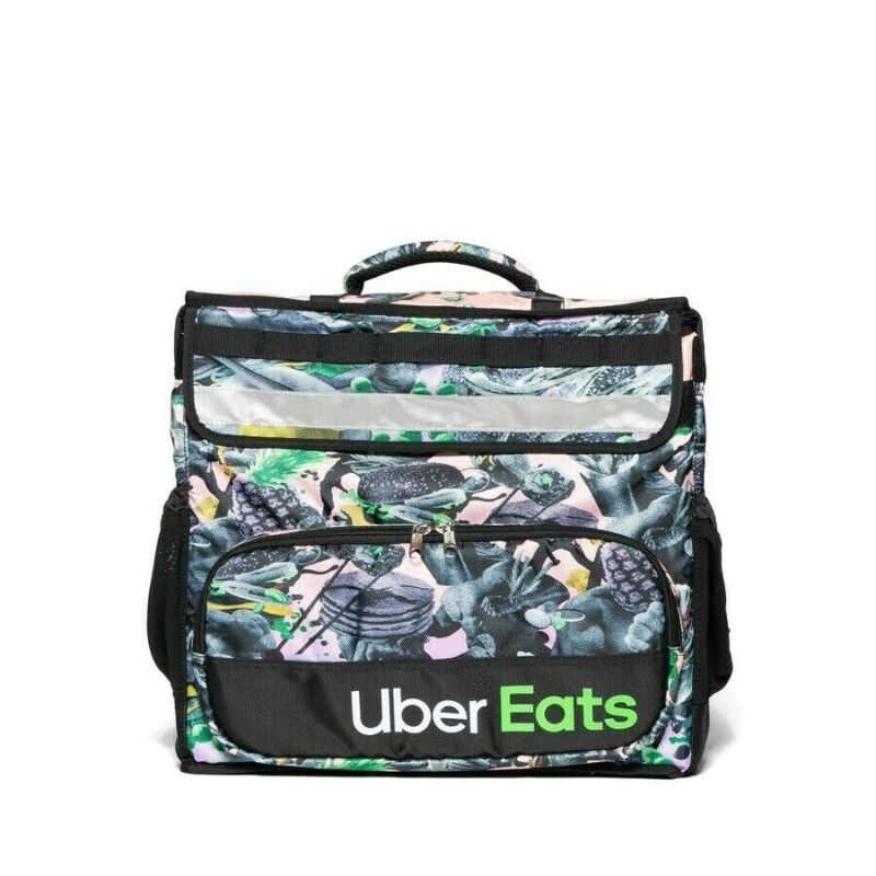*Fast Free Shipping* UBER EATS LIMITED EDITION ARTIST Brent Insulated Backpack