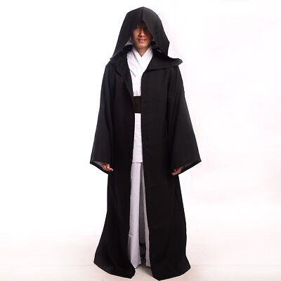 Star Wars Adult Kids Hooded Robe Cloak Cape Darth Vader Sith Cosplay Costume
