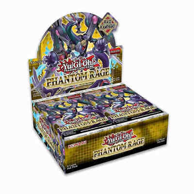 Yu-Gi-Oh! Phantom Rage Booster Box - 1st Edition Ships Now