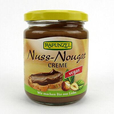 (1,80/100g) Rapunzel Nuss Nougat Creme vegan bio 250 g