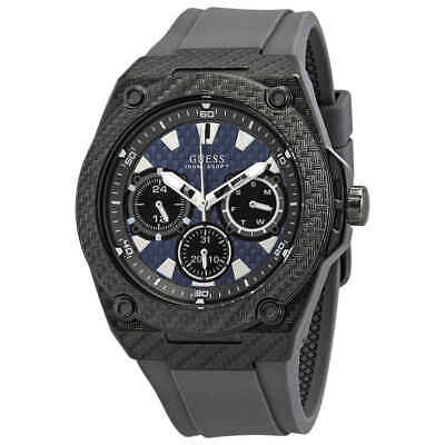 Guess Mens Blue Dial Watch (Guess Legacy Multi-Function Blue Dial Gunmetal-plated Men's Watch W1048G1 )