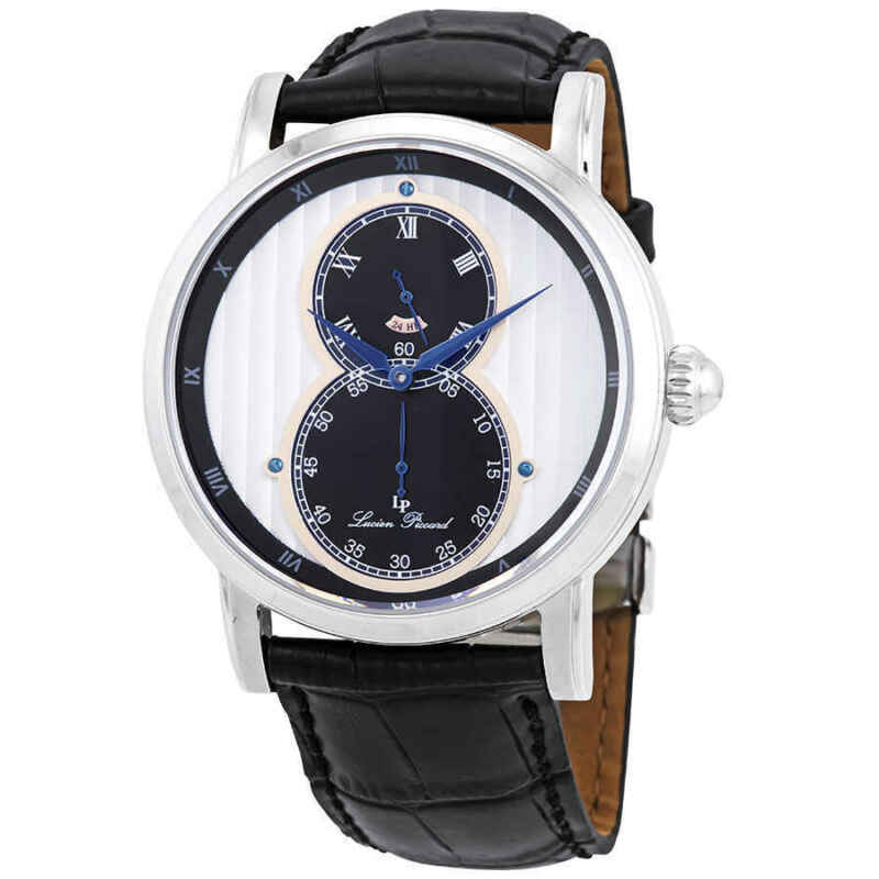 Lucien Piccard Infinity Dual Time Men Watch 40044-02S-RA