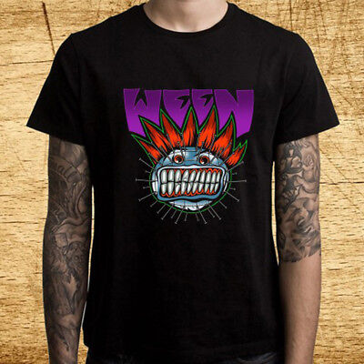 New Ween Band Halloween Tour Logo Black T-Shirt Size S-3XL - Halloween Band Tour
