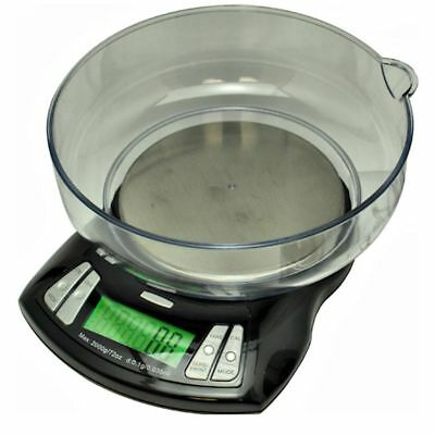 Us Orbit Pro 2000 Gram X 0.1g Bowl Scale Kitchen Counting Balance 2000g Black