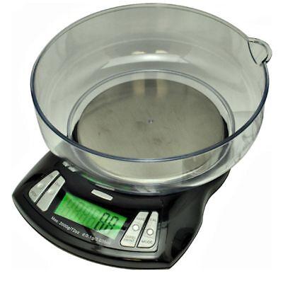US Orbit Pro 2000 Gram x 0.1g Bowl Scale Kitchen Counting Balance 2000g Black