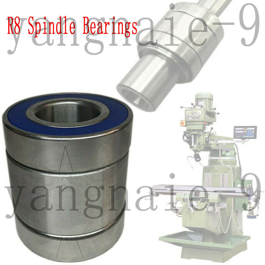 Milling Machine Part R8 Spindle Bearings Assembly Taiwan Milling For BRIDGEPORT