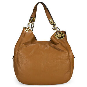 77c9fba31990 Michael Kors Fulton Large Leather Shoulder Tote - Brown for sale ...