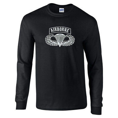 - AIRBORNE US Army Military Long Sleeve T-Shirt