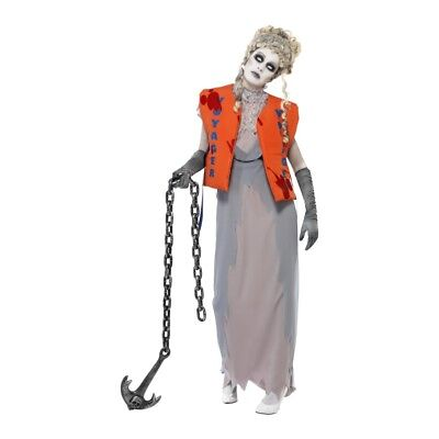 Female Lost At Sea Zombie Costume](Female Zombie Costumes)