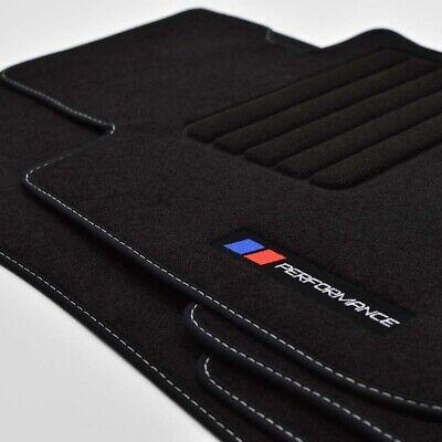 4 Klett Fußmatten für BMW E82 1er Bj.2007-2013 Coupe Original 2tlg Velours