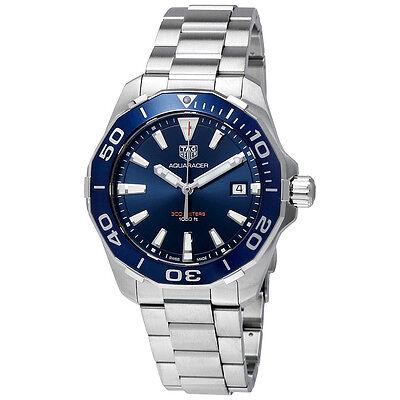 Tag Heuer Aquaracer Blue Dial Mens Watch WAY111C.BA0928