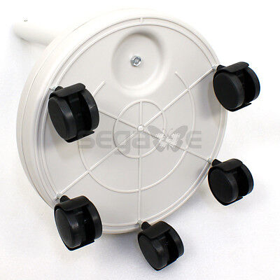 5x Diopter LED Magnifying Floor Stand Lamp Glass Lens Facial Gooseneck Magnifier Jewelry & Watches