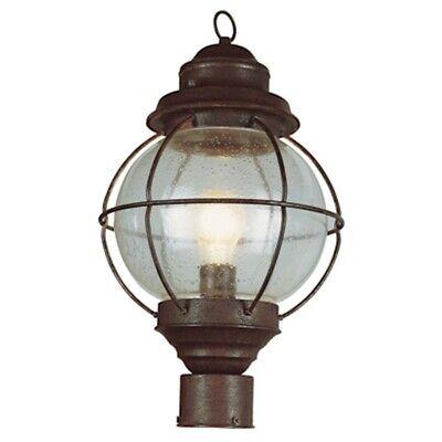 Trans Globe Onion Lantern Post Top 15