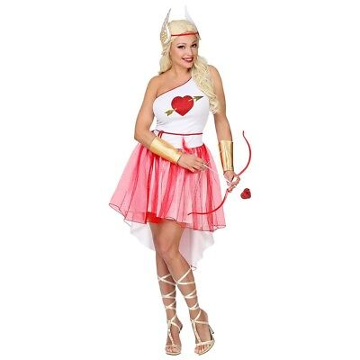 STÜM # Liebesgöttin Amor Frau Liebes Göttin Cupido JGA 7064 (Liebesgöttin Kostüm)
