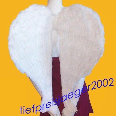 GROßE ENGEL FEDERFLÜGEL Weihnachten Engelsflügel weiß XXL Flügel - Engel Flügel Groß