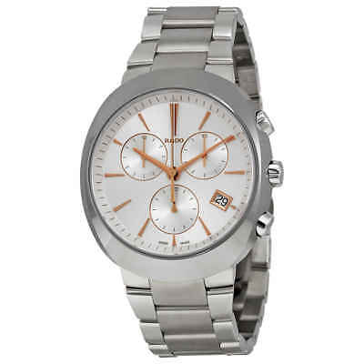 Rado D Star Chronograph Off White Dial Stainless Steel Men's Watch R15937113