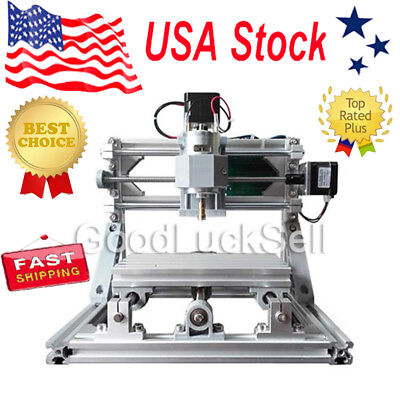 Mini Cnc 1610 500mw Laser Cnc Engraving Machine Pcb Milling Wood Router Usa