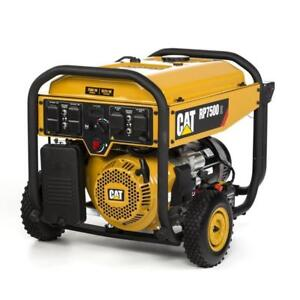 New Cat RP7500 E-Running-Watt Portable Generator with Caterpillar Engine DI16